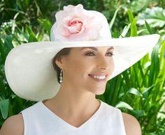 Kentucky Derby Hat Audrey Hepburn Hat Breakfast at Audrey Hepburn Hat, Horse Race Hats, Ascot Hats, Women's Hats, Big Hats, Fancy Hats, Black And White Hats, Custom Made Hats, Valentino