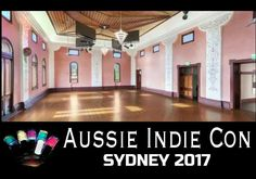 Aussie Indie Con. Nail Polish will fill this room! Sydney 2017