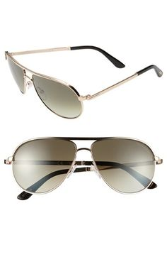 Tom Ford 'Marko' 58mm Sunglasses | Rose Gold $410.00