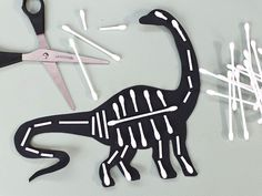 Dinosaurs Preschool, Dinosaur Activities, Dinosaur Crafts, Dinosaur Party, Preschool Crafts, Toddler Activities, Preschool Activities, Easy Crafts For Kids, Diy For Kids