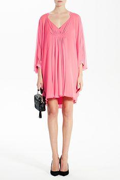 DVF   Fleurette Dress in pink rose, Resort 2012/13: Zoom