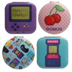 Our range of compact mirrors are made from polyurethane and a leatherette fabric and are printed with fun and colourful designs across a range of themes, that will appeal to boys and girls, young and old. Single item, random design supplied. Dimensions: Height 6.5 Width 6.5 Depth 1cm (approx 2.5 x 2.5 x 0.5 inches) Presents For Women, Unique Presents, Quirky Gifts, Unusual Gifts, Birthday Gifts For Boys, Gifted Education, Tech Gifts, Compact Mirror, Novelty Gifts
