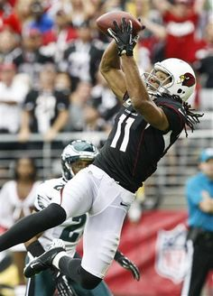 Larry Fitzgerald leaping catch!
