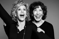 Queens of comedy: Old friends Fonda and Tomlin team up for their first project together in 35 years. #9to5Reunion #FierceWomen #JaneFonda #LilyTomlin