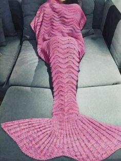 Deko-Objekte - Meerjungfrau Decke für Kinder und Erwachsene - ein Designerstück…