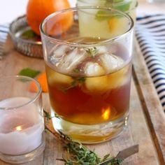 Recipe for Orange Mint Splash cocktail