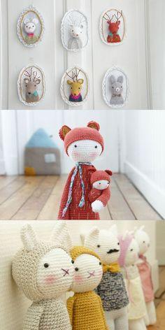 Mesmerizing Crochet an Amigurumi Rabbit Ideas. Lovely Crochet an Amigurumi Rabbit Ideas. Crochet Diy, Crochet Amigurumi, Love Crochet, Amigurumi Patterns, Crochet Crafts, Crochet Dolls, Crochet Patterns, Doll Patterns, Softies