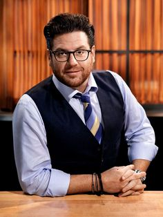 Judge Scott Conant : Owner of five Scarpetta restaurants across the country plus D.O.C.G. in Las Vegas, Scott Conant is a graduate of The Culinary Institute of America and is known for his next-level interpretation of classic Italian cuisine. He's been the host of 24 Hour Restaurant Battle and has battled on Iron Chef America.