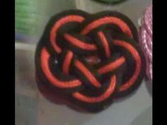 M Como hacer un nudo josefina o infinito para una pulsera. Infinity knot - YouTube