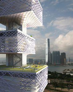Hong Kong Alternative Car Park Tower / Chris Y. H. Chan + Stephanie M. L. Tan