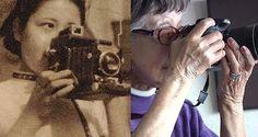 Najstarsza japońska fotoreporterka