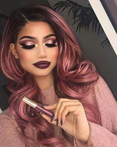 Make-up - 33 Day To Night Makeup Ideas For Winter Season To Master Right Now - Best Photo Gorgeous Makeup, Love Makeup, Makeup Looks, Amazing Makeup, Dress Makeup, Pretty Makeup, Beauty Make-up, Beauty Hacks, Hair Beauty