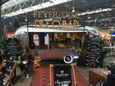 Fever Tree pop up bar - 'Airstream' at London Cocktail Week 2015