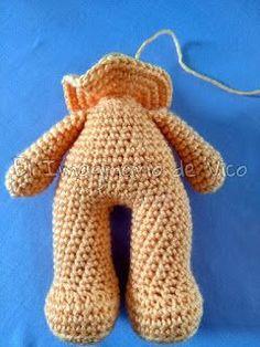 Photo from album Crochet Boat, Crochet Doily Rug, Crochet Dragon, Crochet For Kids, Crochet Bear Patterns, Doll Patterns Free, Crochet Doll Pattern, Crochet Dolls, Crochet Monsters