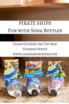 Pirate Ship Soda Bottles!