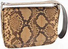 Prada Natural Brown Python Shoulder Bag