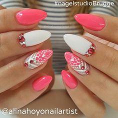 #beautiful #nails by @alinahoyonailartist #fashion #fashionable #fashionblogger…