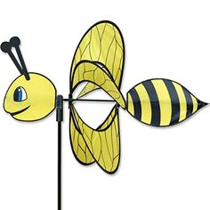 Whirly Wing Spinner  Bee > Click for more Special Deals #Decor#HomeDecor#DecorIdeas#HomeDecorations