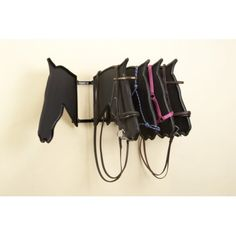 The ultimate bridle and headcollar display product Swings freely on a simple lift off hinges Gives a clear view of a bridle or headcollar as seen on