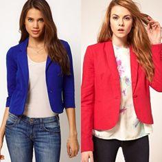 chaquetas | Chaquetas de colores: un toque de color primaveral en tu atuendo