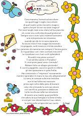 poesia per la mamma maestra mary