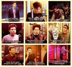 how i met your mother Ted Mosby Best Series, Tv Series, How Met Your Mother, Ted Mosby, Comedy Tv, I Meet You, Tv Quotes, Go Camping, Movies Showing