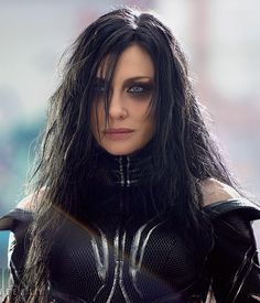Cate Blanchett as Hela the Goddess of Death from Thor Ragnarock movie