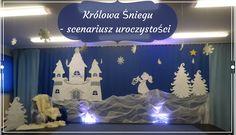 """Nauczyć Ich Latać: """"Królowa Śniegu"""" - scenariusz przedstawienia świąteczno-zimowego"""