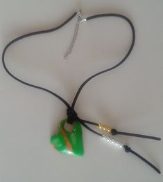 "Halskette ""Verde Lima"" Halsschmuck – Astrid´s Accessoires Collar Verde, Lima, Headphones, Pendant Necklace, Jewelry, Collection, Fashion, Green Fashion, Blue Green"