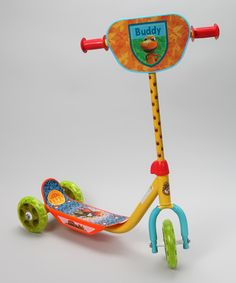 Colorful Dinosaur Train graphics, a durable steel frame and handlebar with PVC hand grips make this scooter both fun and functional. Trains Birthday Party, Birthday Ideas, Dinosaur Train Party, 3 Wheel Scooter, Third Wheel, Cute Kids, Kid Stuff, Daily Deals, Fun