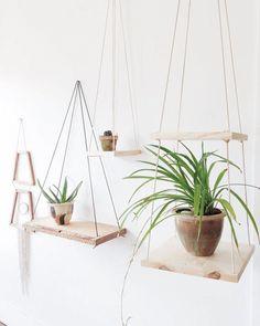 L'étagère balançoire : une étagère suspendue pratique et esthétique !   escale DESIGN