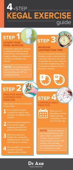 How to Do Kegel Exercises http://www.draxe.com #health #holistic #natural