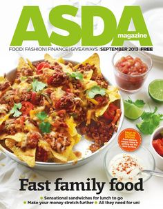 Asda Magazine September Issue
