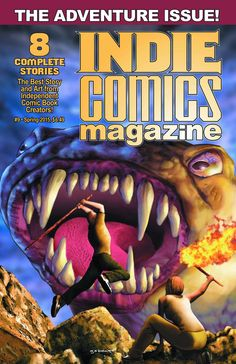 Indie Comics Magazine #9 currently in Diamond Comic Distributors PREVIEWS Catalog. Pre-order it with code # FEB150879. It is 64 pages and 8 stories of #IndieComics goodness, with a #CruZader lead-in story. #ComicBooks @previewsworld