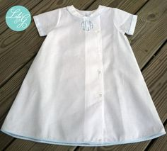 Lila & G Boys Coming Home Gown....Baby Boy Heirloom by LILAandG, $55.00