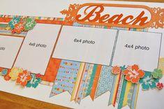 SG: Beach - Scrapbook Generation  Perfect for cruise scrapbook, Port A Sandfest pics, Pensacola Christmas pics.