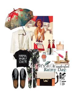 """""""It's rainy day"""" by merima-musanovic ❤ liked on Polyvore featuring Wallis, FitFlop, Avenue, Lanvin, Nixon and Givenchy"""