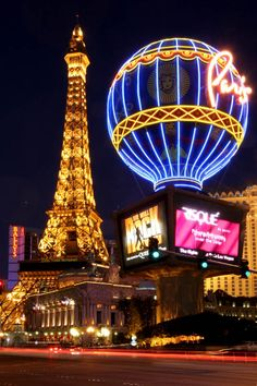 Las Vegas -Got to stay at the Paris when it was brand new. I was the first to ever use my room. Love the lobby/main floor there, and I'm not much of a Vegas fan.