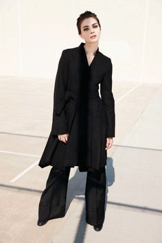 Antonina Vasylchenko Suits Up In Jean-François Campos Snaps For Amica September2015 - 3 Sensual Fashion Editorials | Art Exhibits - Women's Fashion & Lifestyle News From Anne of Carversville