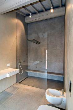 CASA GARIBALDI: Bagno in stile in stile Moderno di studio di architettura DISEGNO