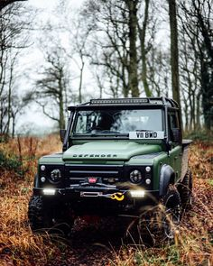 10.) Land Rover Defender- Whether it be an Urban assault or a drive through some woods, definitely something I want.