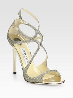 Jimmy Choo - Lance Lamé Glitter Sandals  lt 3 Sandals Outfit, Shoes Sandals, e86cbca4cdfd