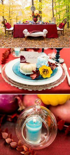 tischdeko hochzeit heiraten im herbst hochzeit im oktober draussen