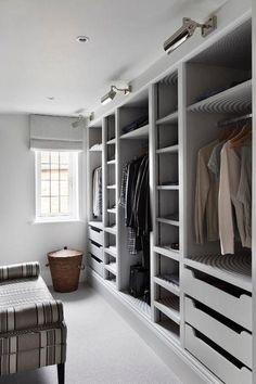 26 Ideas Walk In Closet Storage Ideas Islands Master Bedroom Closet, Bedroom Wardrobe, Wardrobe Closet, Small Walk In Wardrobe, Wardrobe Storage, Closet Storage, Bedroom Storage, Closet Drawers, Closet Doors