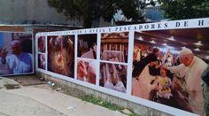 Muestra fotográfica de Papa Francisco en fiesta patronal de Santo Cura Brochero  12/03/2017 - 06:11 pm .- Con motivo del cuarto aniversario de pontificado del Papa Francisco, desde el 11 al 16 de marzo se exhibe en la Villa Cura Brochero, Córdoba, una muestra fotográfica con distintos momentos vividos por el Santo Padre en Roma, durante la Semana Santa de 2014.