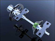 CUADRICICLO A PEDAL 04 - Mecanismo de transmisión - YouTube