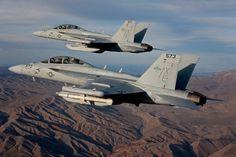 US Navy Boeing EA-18G « Growler » @ USN