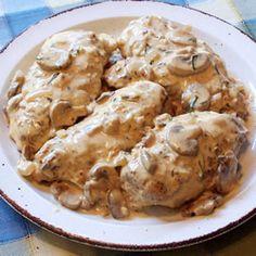 Dijon-Terragon Chicken Breast | Ginny's Low Carb Kitchen