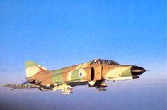 ISRAELI F-4 PHANTOMS 1973 YOM KIPPUR WAR   McDonnell Douglas F-4 Phantom II (Kurnass)