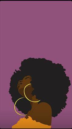 Black Love Art, Black Girl Art, Art Girl, Look Wallpaper, Black Aesthetic Wallpaper, Black Art Painting, Black Artwork, Photographie Art Corps, Afrique Art